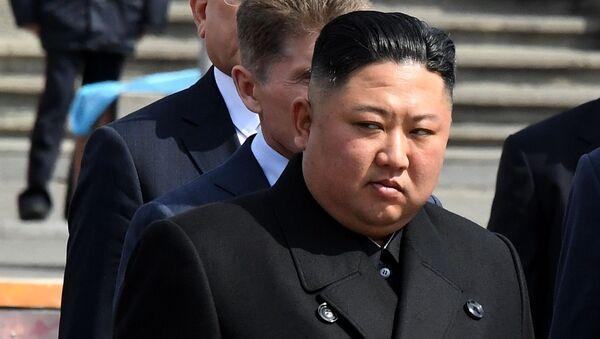 Chủ tịch Hội đồng Nhà nước Cộng hòa Dân chủ Nhân dân Triều Tiên, Kim Jong-un - Sputnik Việt Nam