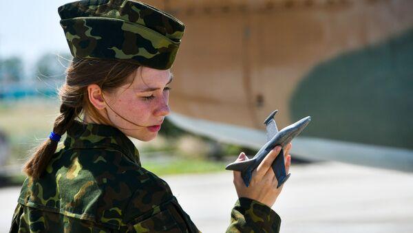 Chuyến bay huấn luyện của các nữ học viên trường Không quân Cao cấp Krasnodar - Sputnik Việt Nam
