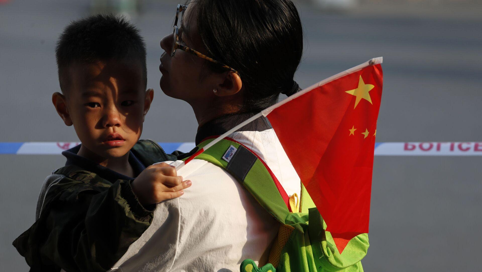 Mẹ có con ở Trung Quốc. - Sputnik Việt Nam, 1920, 27.09.2021
