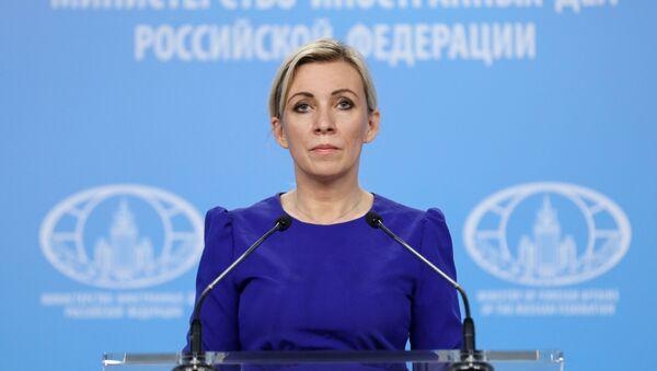 Người phát ngôn Bộ Ngoại giao Nga Maria Zakharova. - Sputnik Việt Nam