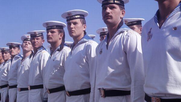 Các thủy thủ Hạm đội Biển Đen của Liên Xô - Sputnik Việt Nam