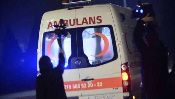 Xe cứu thương tại thủ đô Istanbul - Sputnik Việt Nam