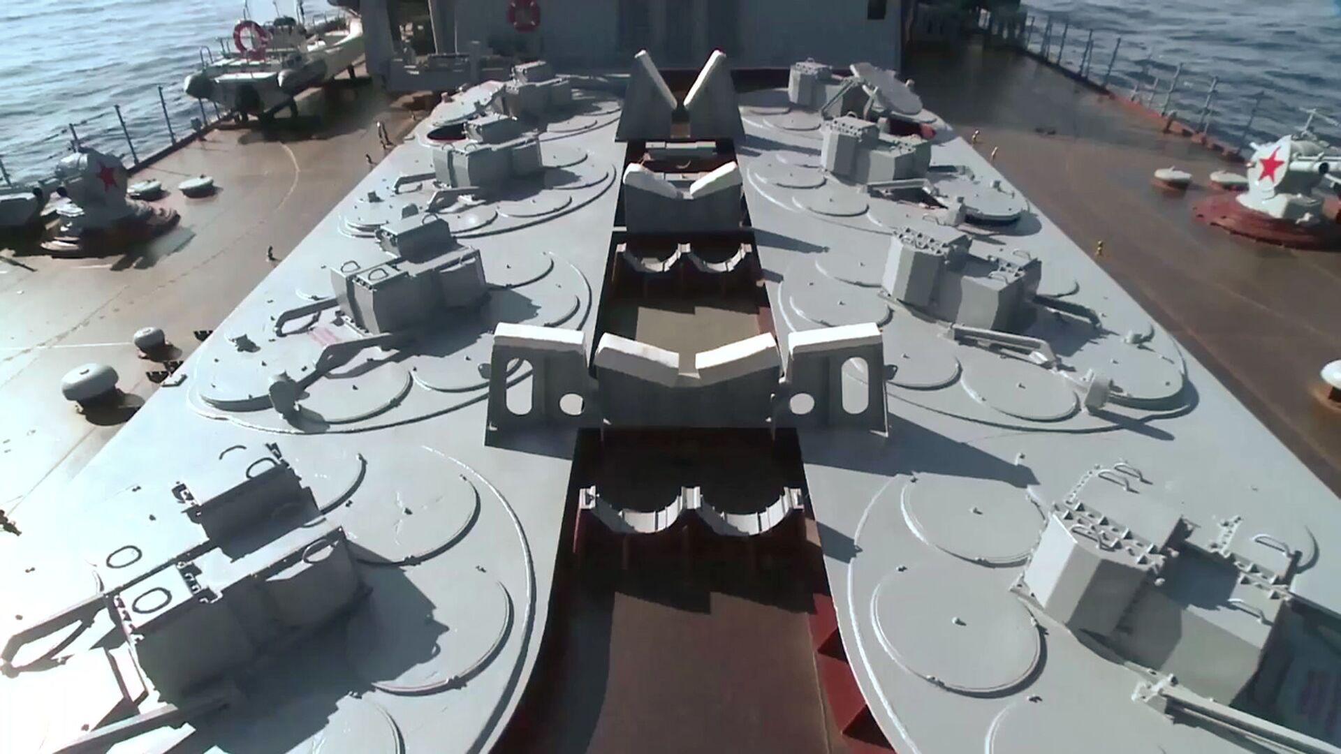 Các tàu chiến mới của Hải quân Nga sẽ được trang bị những vũ khí phòng không nào? - Sputnik Việt Nam, 1920, 15.02.2021