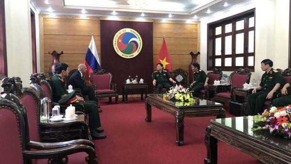 Phiên họp về công việc của Trung tâm Nhiệt đới Nga-Việt. - Sputnik Việt Nam