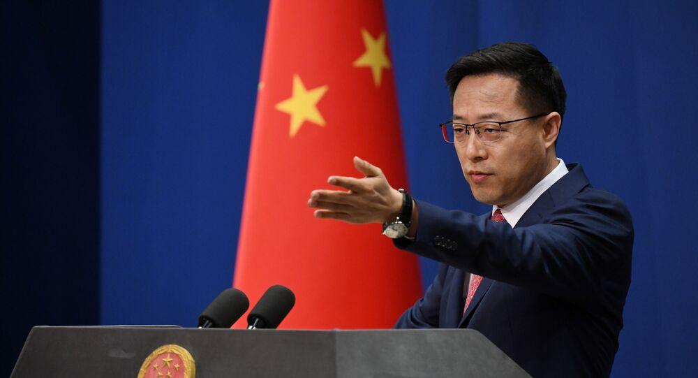 Phát ngôn viên Bộ Ngoại giao Trung Quốc Triệu Lập Kiên