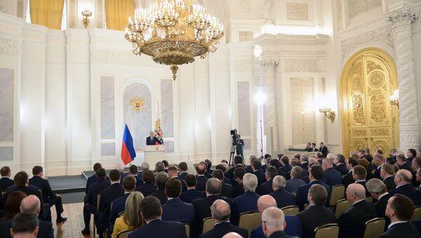 Phát biểu của Tổng thống Nga Vladimir Putin với Thông điệp thường niên gửi Quốc hội Liên bang - Sputnik Việt Nam