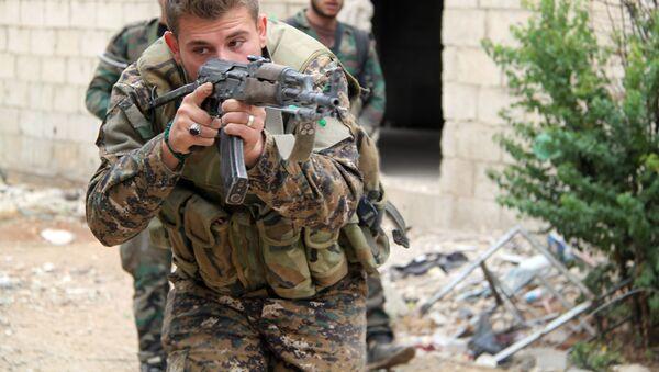 Trung đoàn đặc nhiệm Quân đội Syria - Sputnik Việt Nam