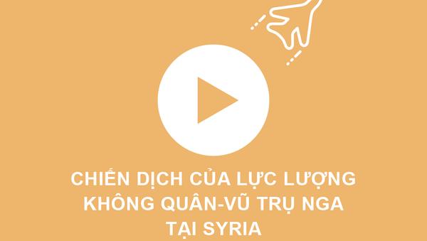 Chiến dịch của Lực lượng Không quân-Vũ trụ Nga ở Syria trong đồ họa thông tin của «Sputnik» - Sputnik Việt Nam
