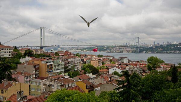 Phong cảnh thành phố Istanbul và vịnh Bosphorus - Sputnik Việt Nam
