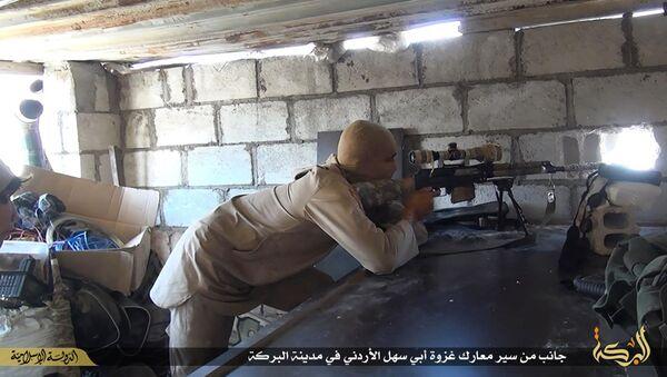 Xạ thủ Daesh tại Syria - Sputnik Việt Nam