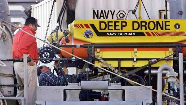 Drone nước sâu của Mỹ - Sputnik Việt Nam