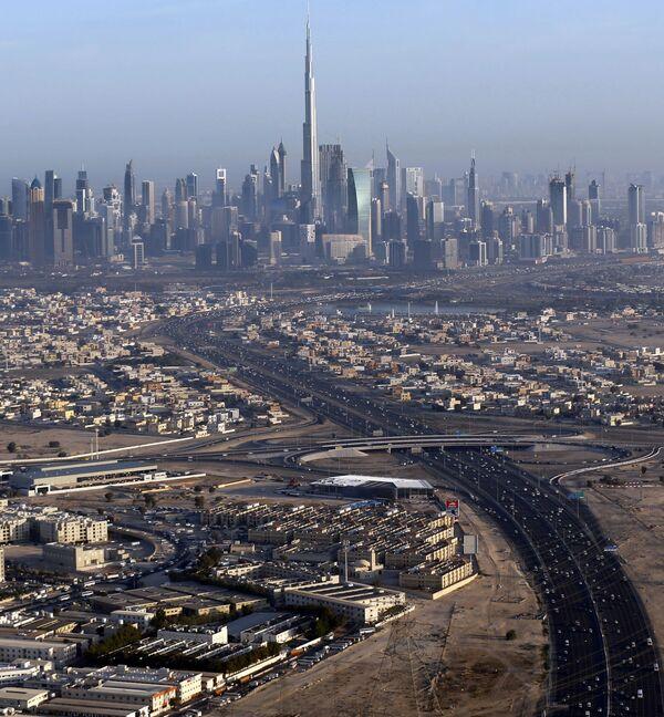 Quang cảnh Dubai và tháp Burdj-Khalifa - Sputnik Việt Nam