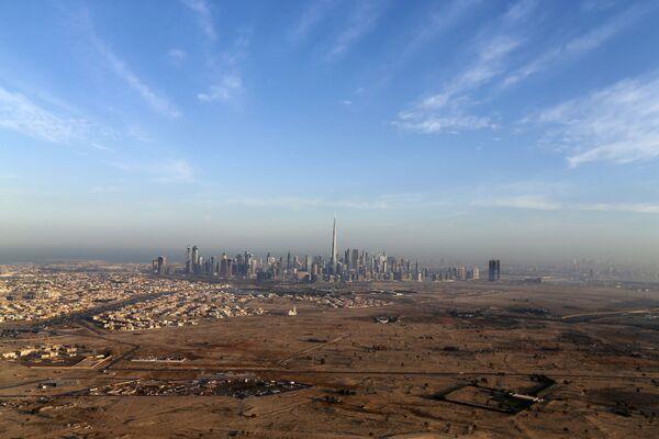Cảnh thủ đô Dubai của Các Tiểu vương quốc Ả Rập thống nhất (UAE) - Sputnik Việt Nam