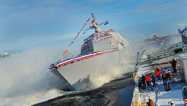 Tàu chiến Mỹ Milwaukee - Sputnik Việt Nam