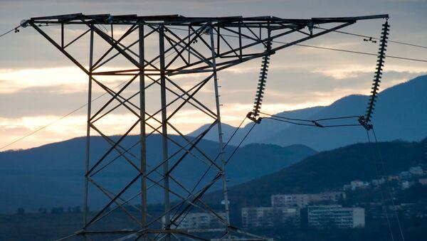 Đường dây điện ở Crưm - Sputnik Việt Nam