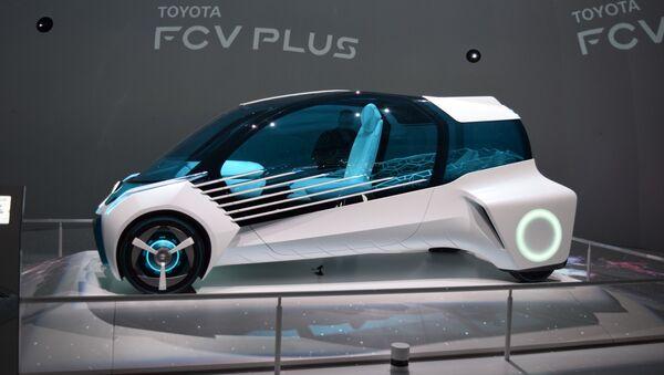 Xe Toyota FCV chạy bằng  nhiên liệu hydrogen - Sputnik Việt Nam