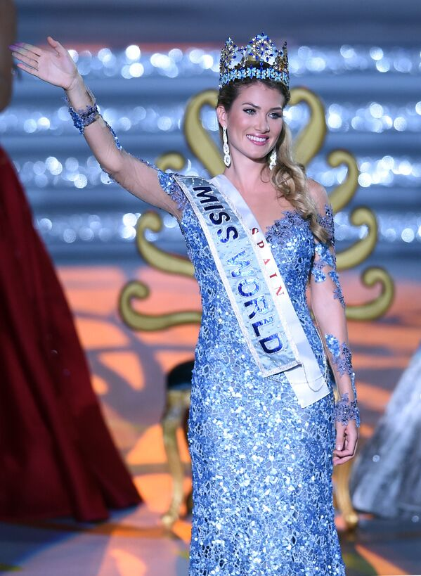 Hoa hậu cô gái Tây Ban Nha Mireia Lalaguna Royo - Sputnik Việt Nam