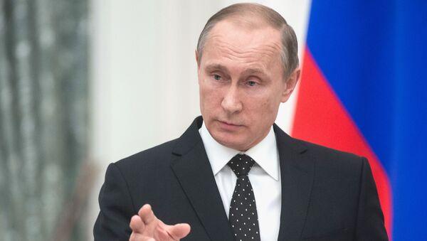Tổng thống Liên bang Nga Vladimir Putin - Sputnik Việt Nam
