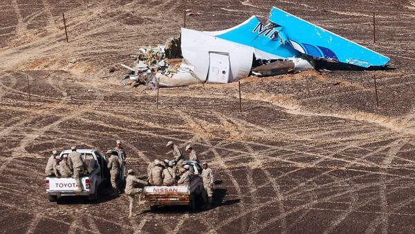 Nơi máy bay Airbus A321 của Nga rơi tại Ai Cập - Sputnik Việt Nam