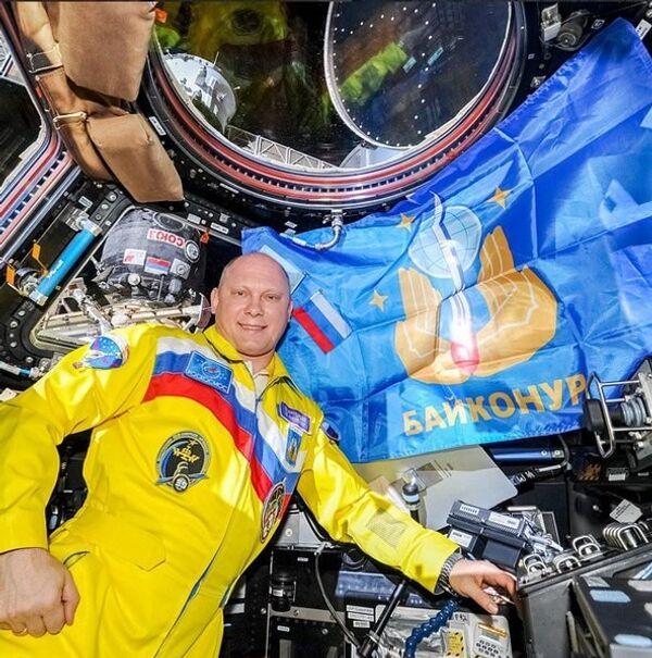 Oleg Artemyev kỷ niệm 60 năm hoạt động của Baikonur. - Sputnik Việt Nam