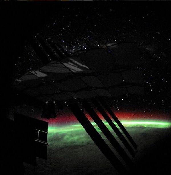 Cực quang ở Nam Cực - Sputnik Việt Nam